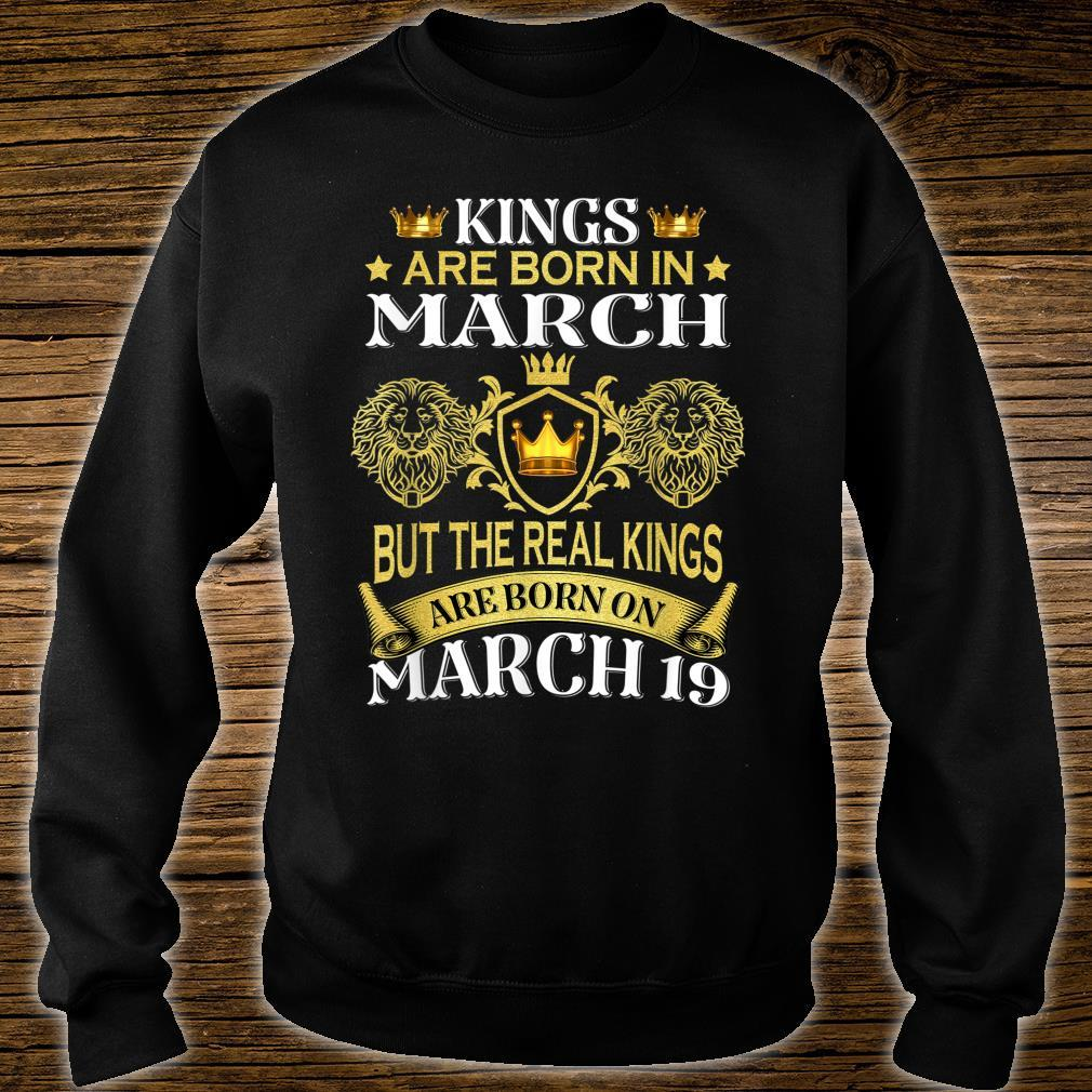 Kings Are Born On March But The Real Kings Shirt sweater