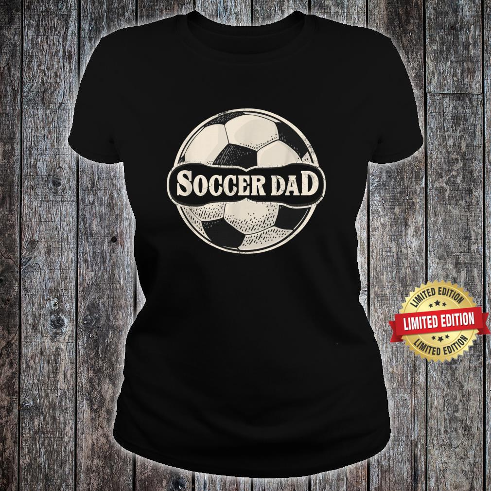 Soccer Father Dad Family Matching Team Player Sport Shirt ladies tee