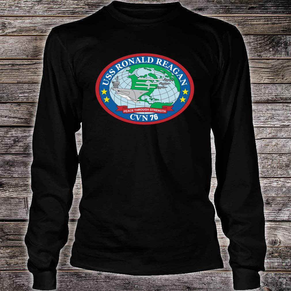 USS Ronald Reagan CVN76 Shirt long sleeved