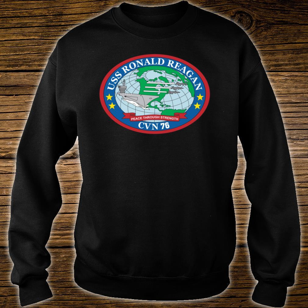 USS Ronald Reagan CVN76 Shirt sweater