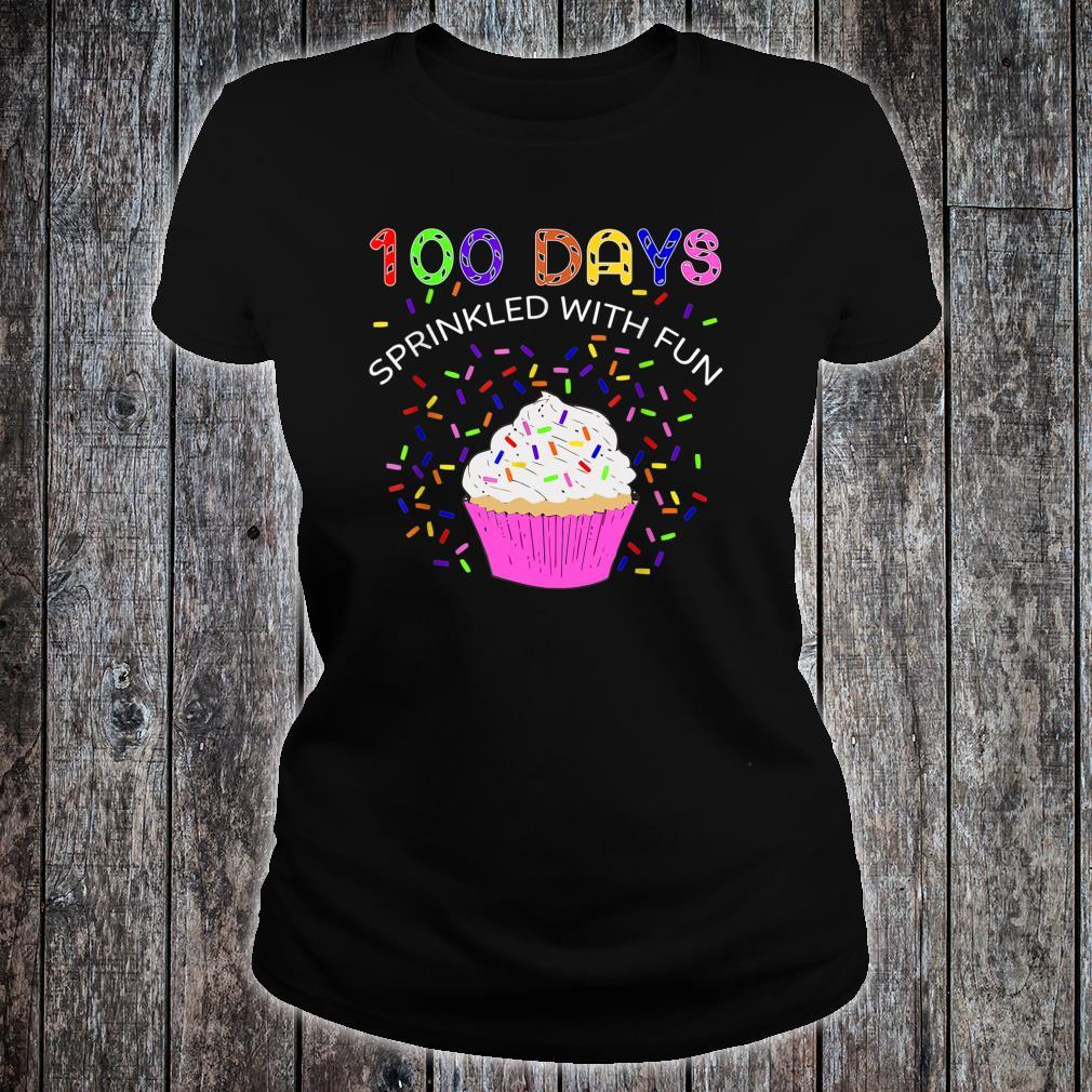 100 Days Sprinkled With Fun 100th Day Of School Shirt ladies tee