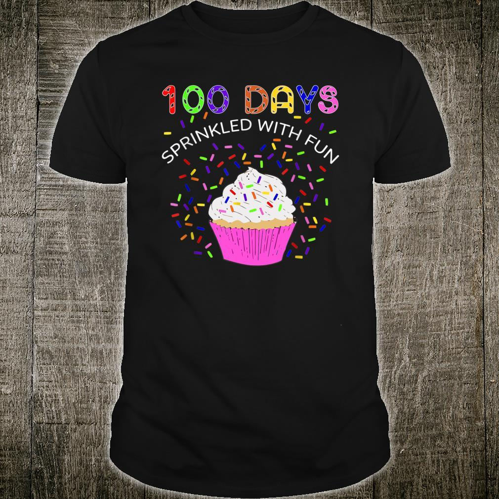 100 Days Sprinkled With Fun 100th Day Of School Shirt