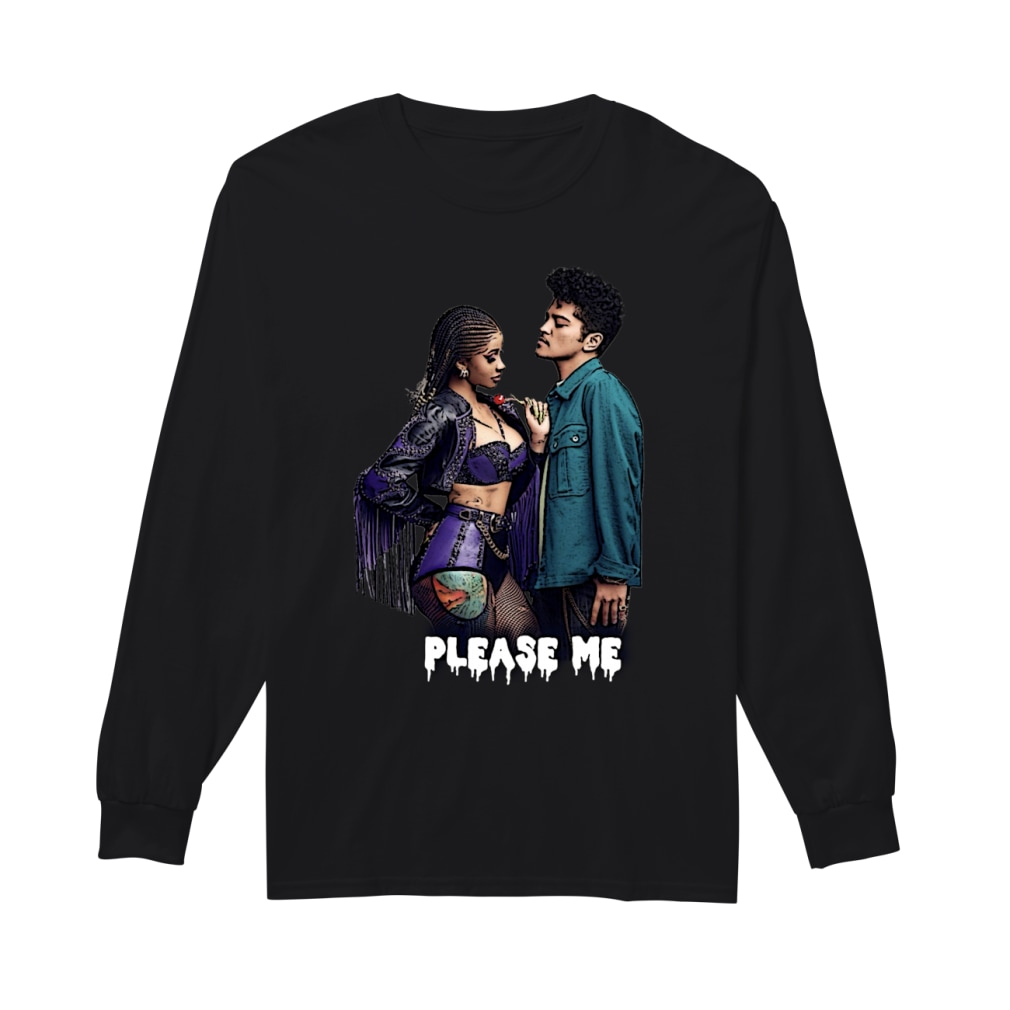 Cardi And Bruno Mars Please Me Shirt Long sleeved