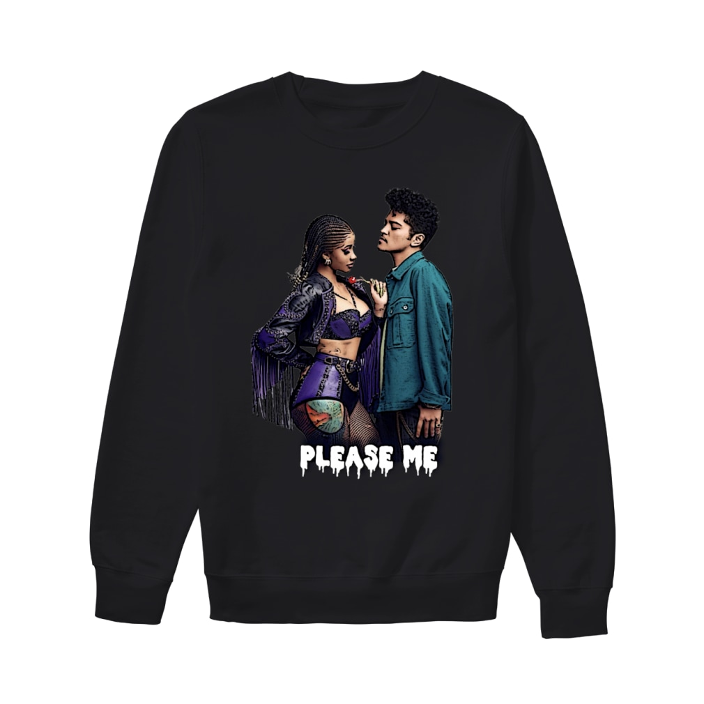 Cardi And Bruno Mars Please Me Shirt sweater