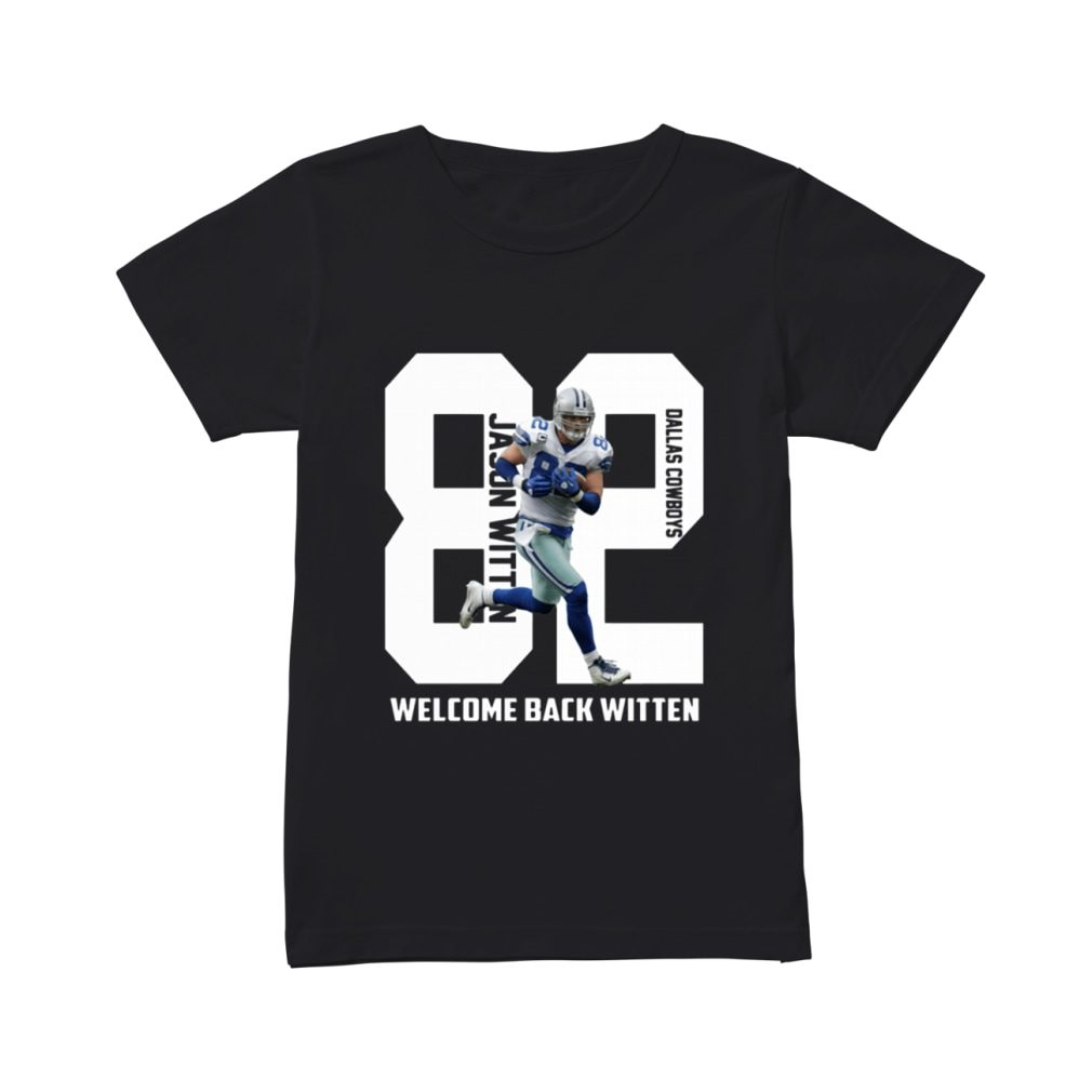 Dallas Cowboys welcome back Jason Witten shirt ladies tee