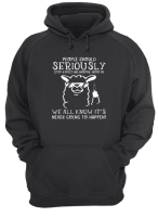 Pig people should seriously stop expecting normal from me shirt hoodie