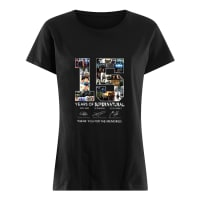 15 years of supernatural thank you for the memories shirt ladies tee