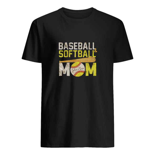 Baseball softball mom shirt