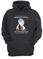Behind every granddaughter who believes in herself is a grandma who belived in her first shirt hoodie