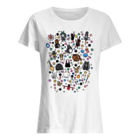 Ghibli shirt ladies tee