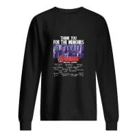 Thank you for the memories avengers 2008-2019 22 movies shirt sweater