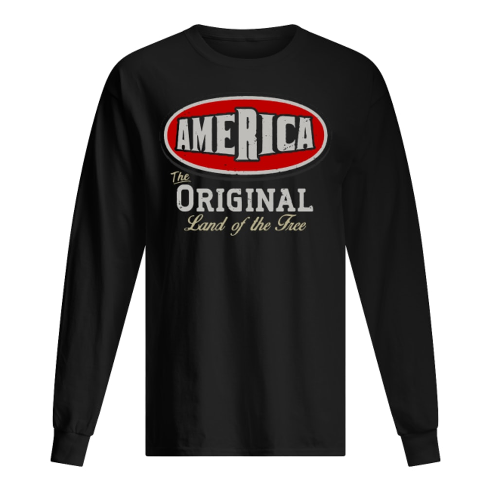 America the original land of the Tree shirt long sleeved