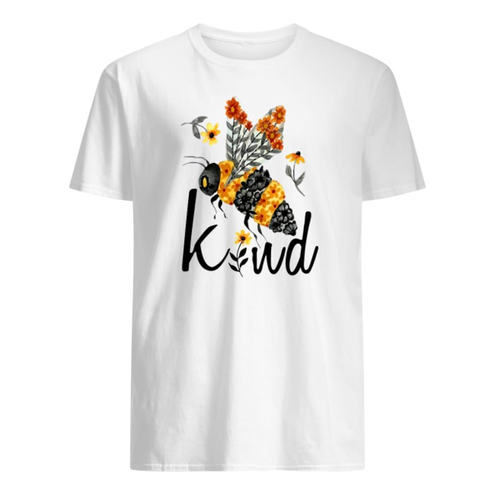 Bee kind with flower shirt