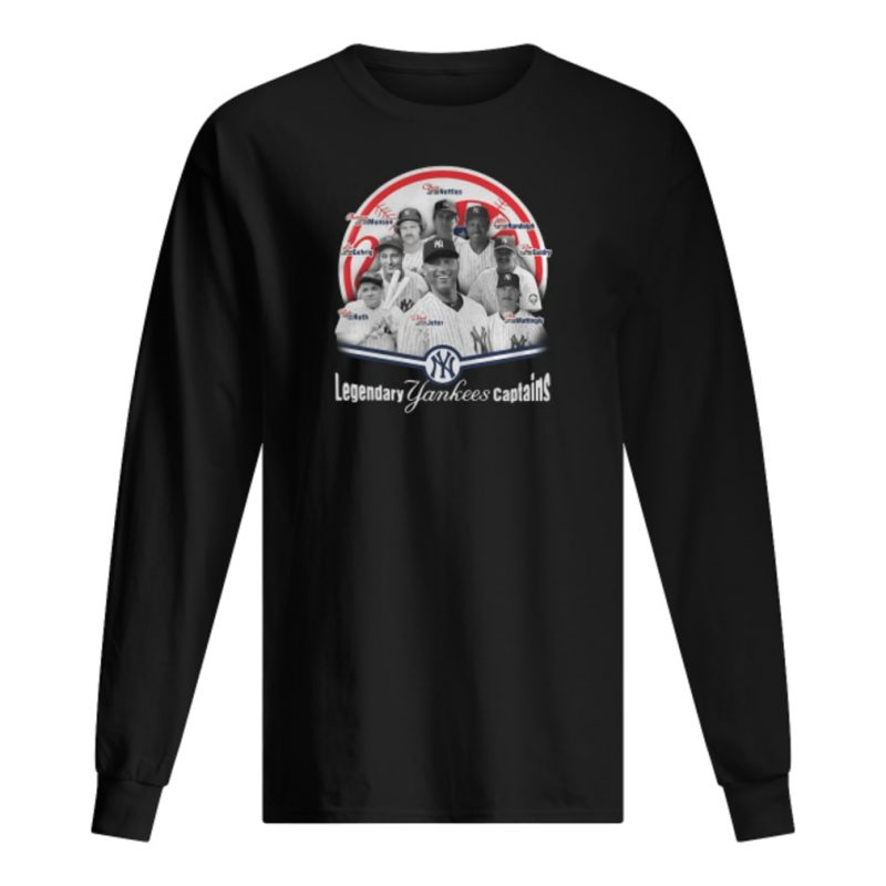 Legendary Yankees captains shirt long sleeved