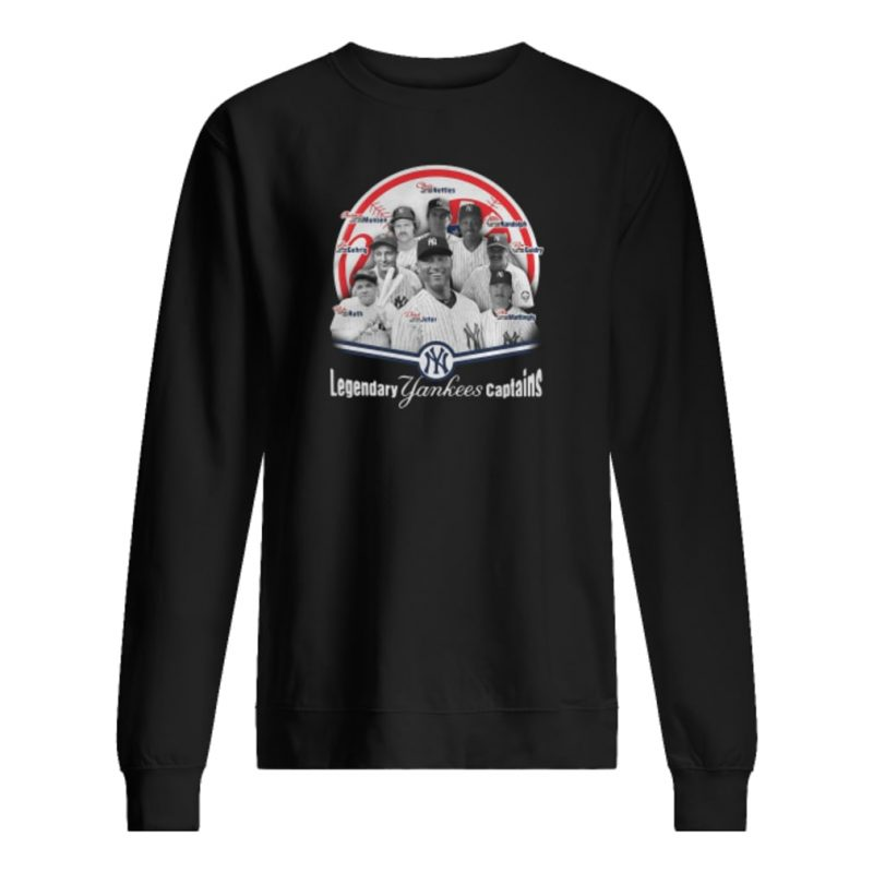 Legendary Yankees captains shirt sweater