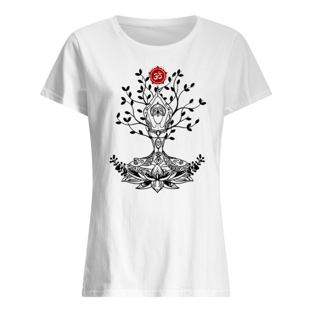 Namaste shirt ladies tee
