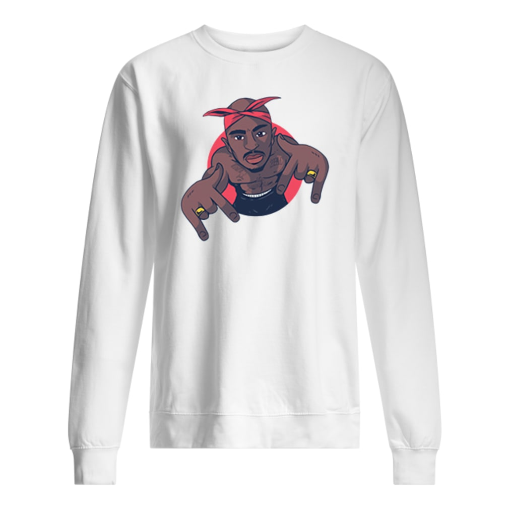 Pac Rap shirt sweater
