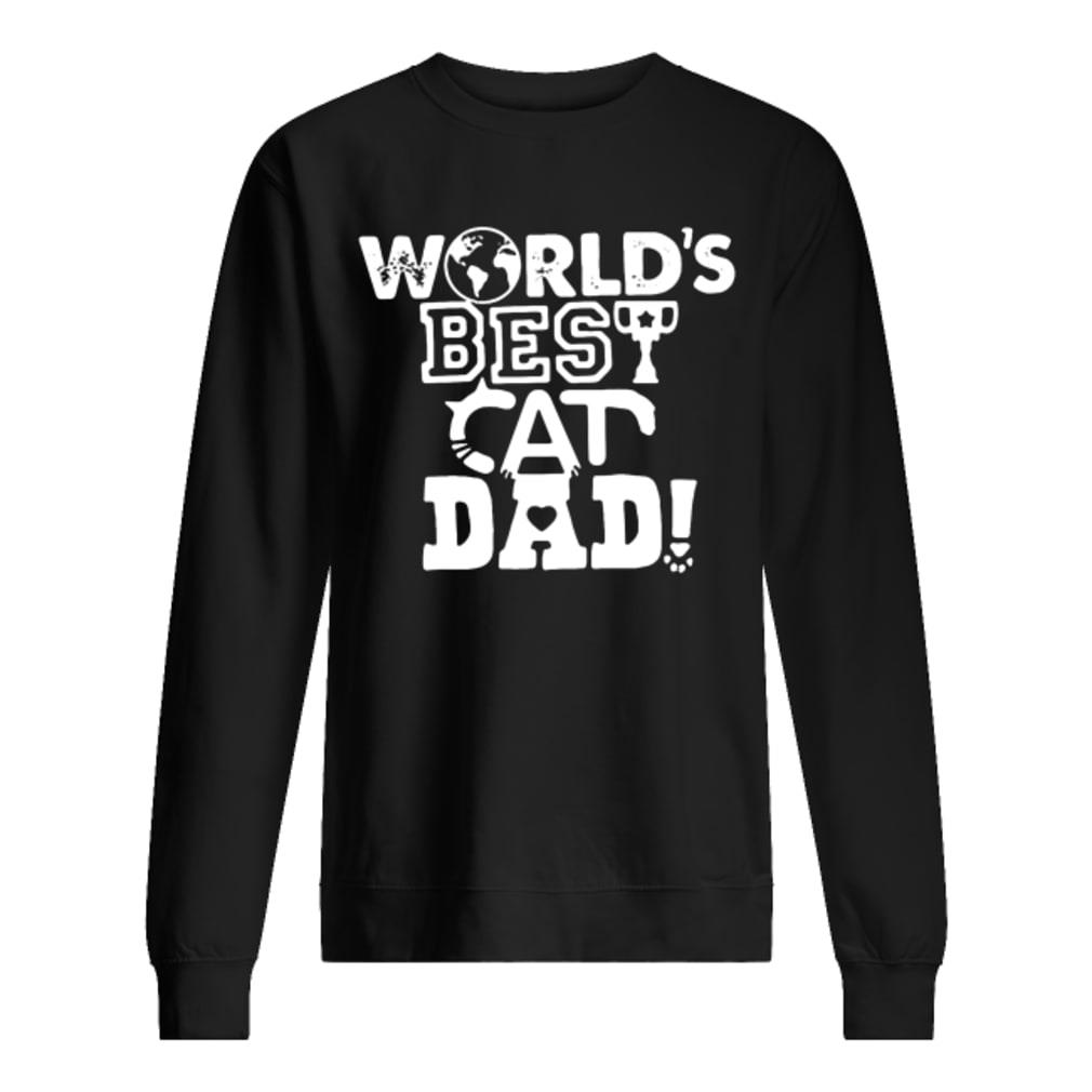53b6c3a3 Official World's best cat dad shirt, hoodie, tank top and sweater