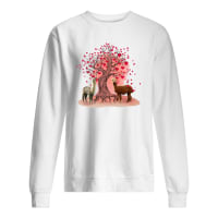 Couple dolly and love tree shirt sweater