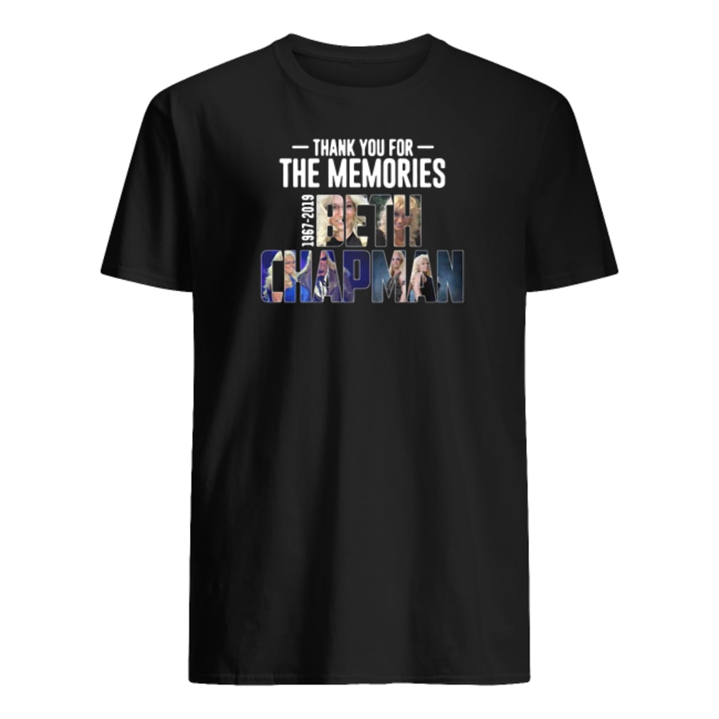 Rip Beth Chapman 1967-2019 thank you for the memories shirt