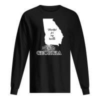 Thankful for my roots georgia shirt long sleeved