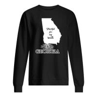 Thankful for my roots georgia shirt sweater