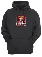 The best part of waking up is Donald Trump is president shirt hoodie