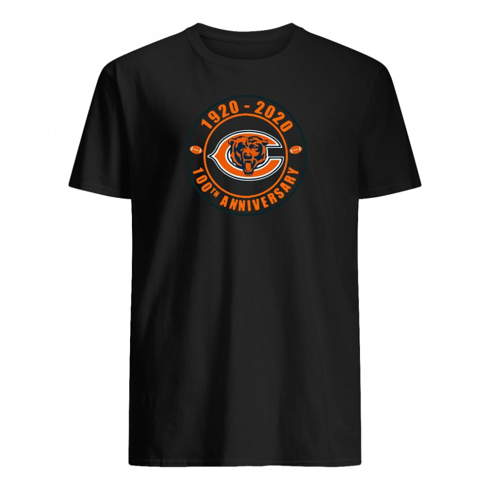 1920 2020 100th anniversary of Chicago Bears shirt