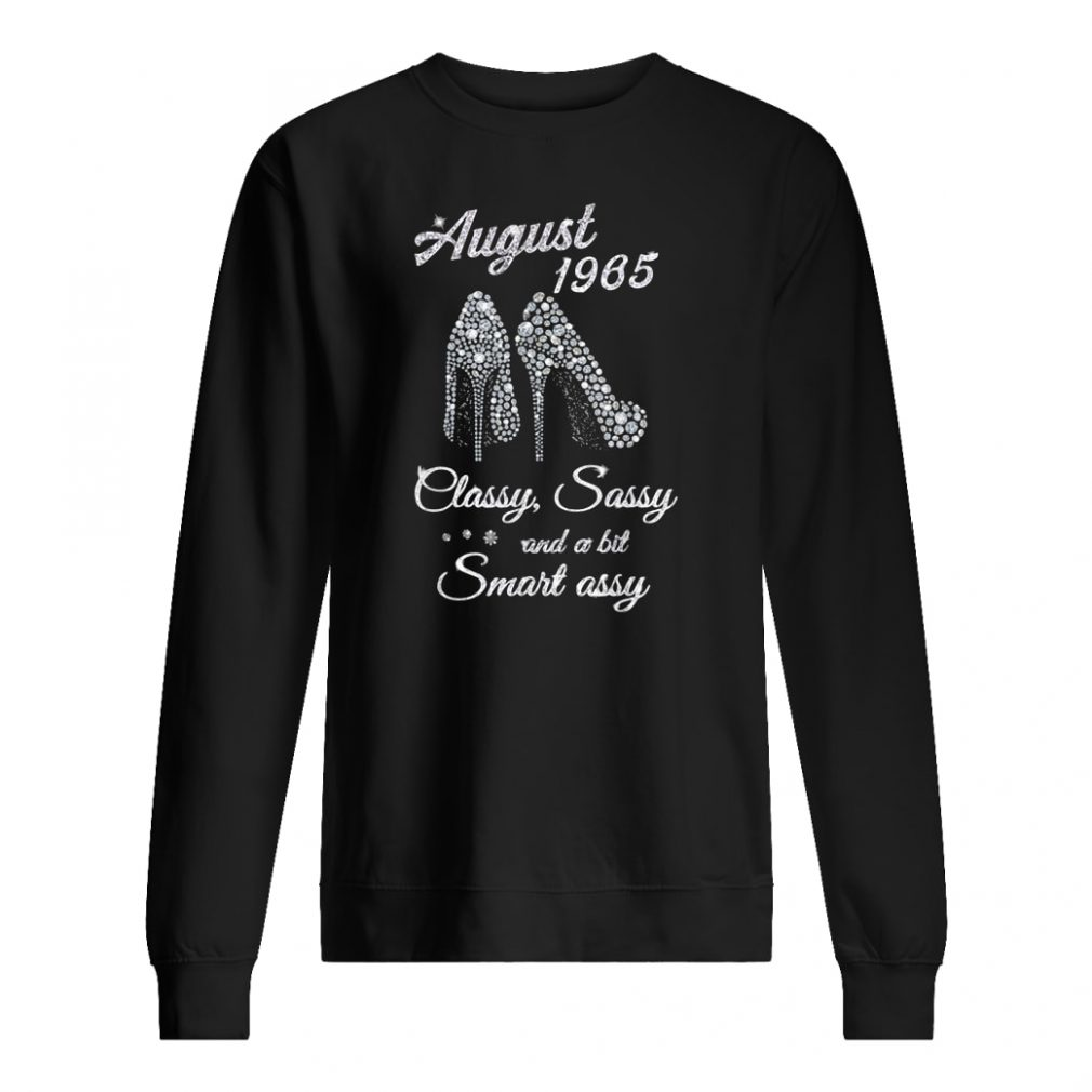 August 1965 classy and fabulous 54th birthday shirt sweater