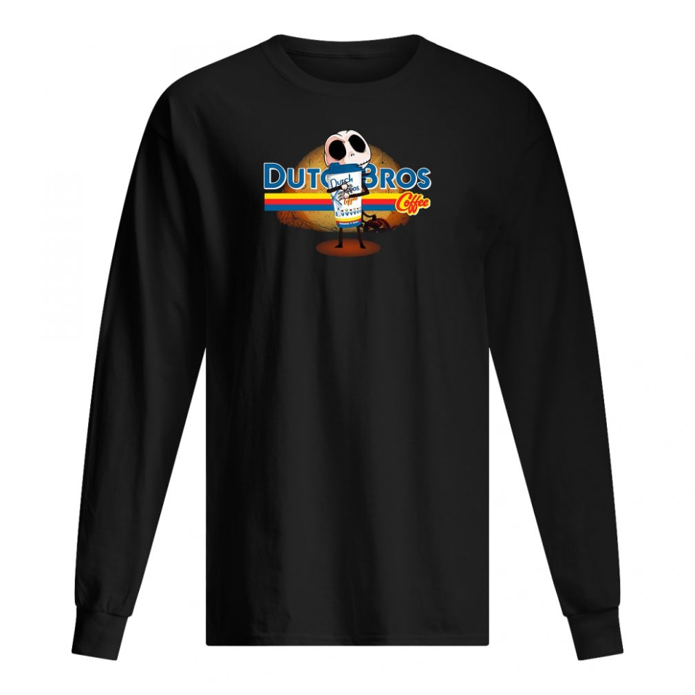 Dutch Bros coffee shirt long sleeved