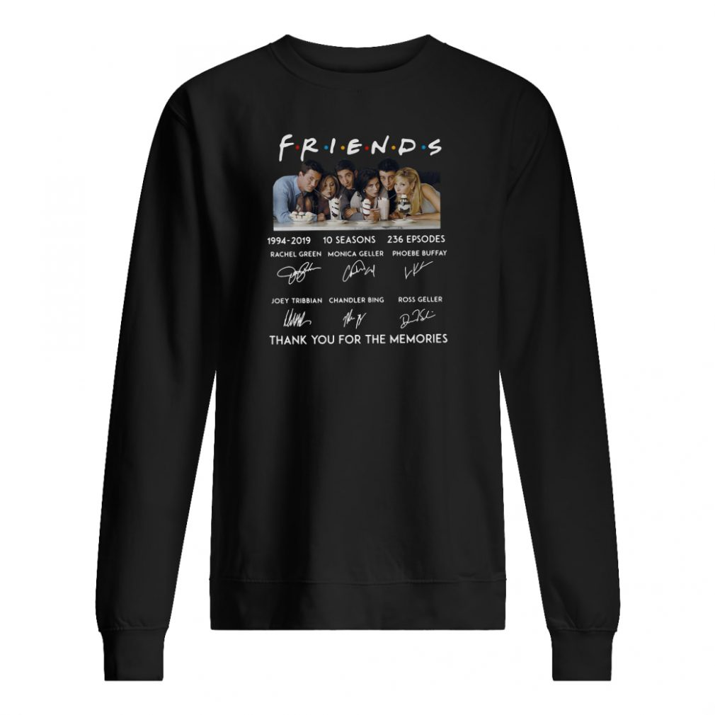 Friends 10 seasons 236 episodes anniversary 1994 2019 shirt sweater