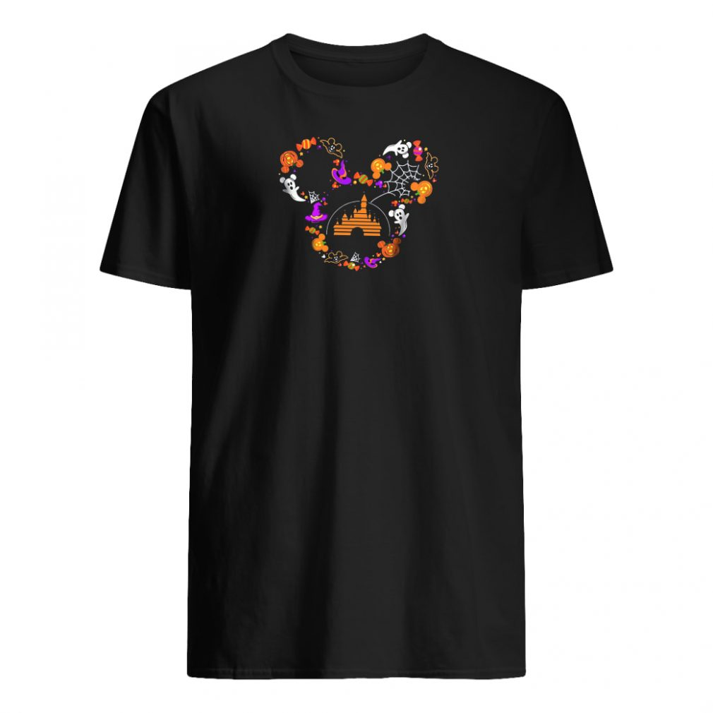 Halloween Mickey head shirt