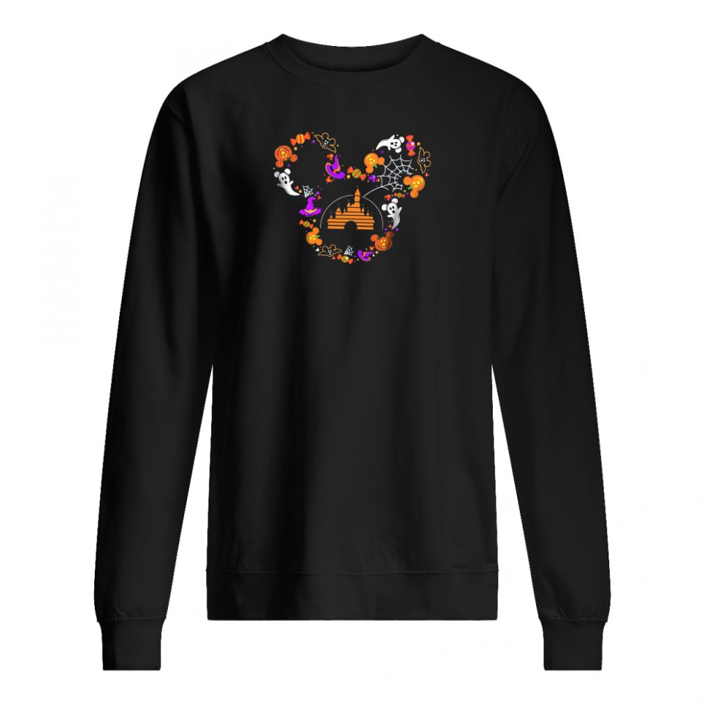 Halloween Mickey head shirt sweater