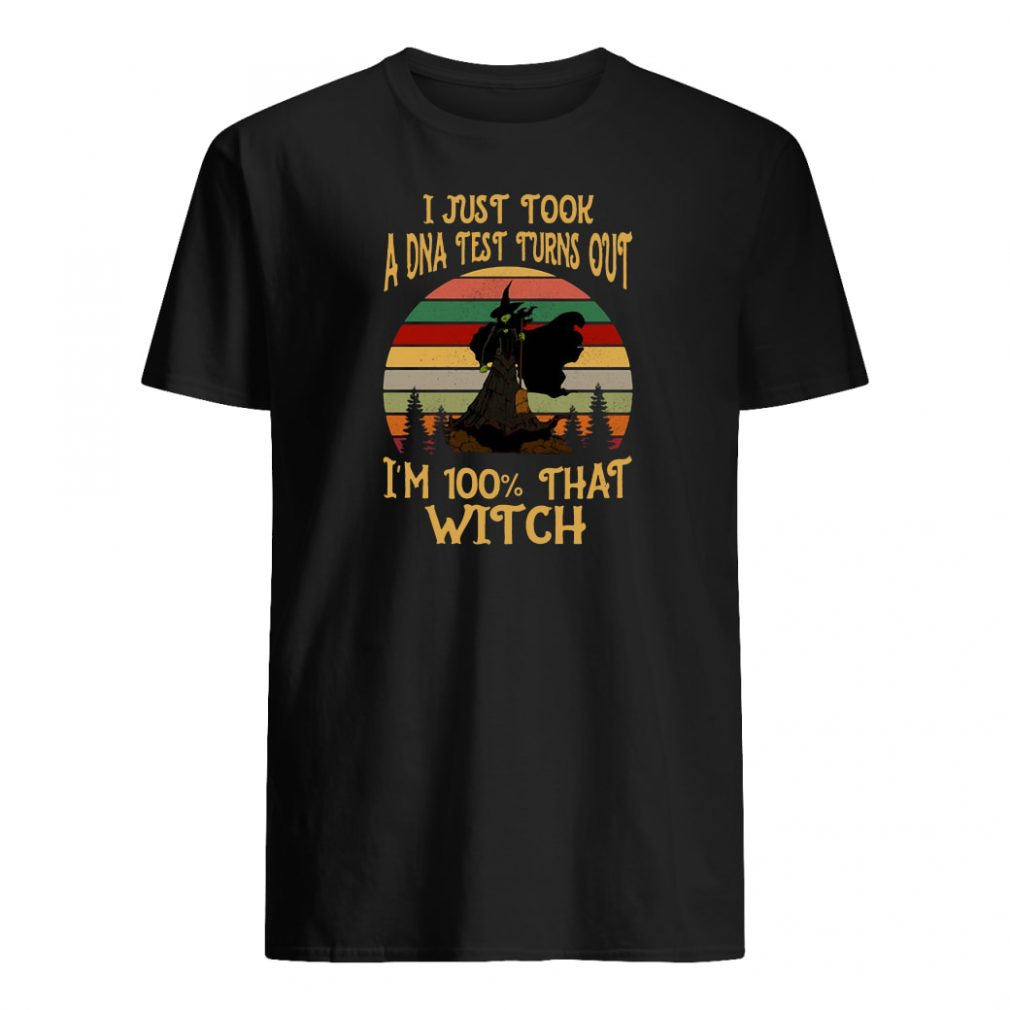 I just tool a DNA test turns out i'm 100% that witch shirt