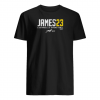 Lebron James L.A 23 signature shirt