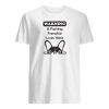 Warning a farting frenchie lives here shirt