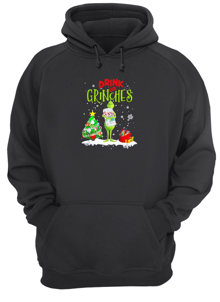 Drink up Grinches shirt hoodie