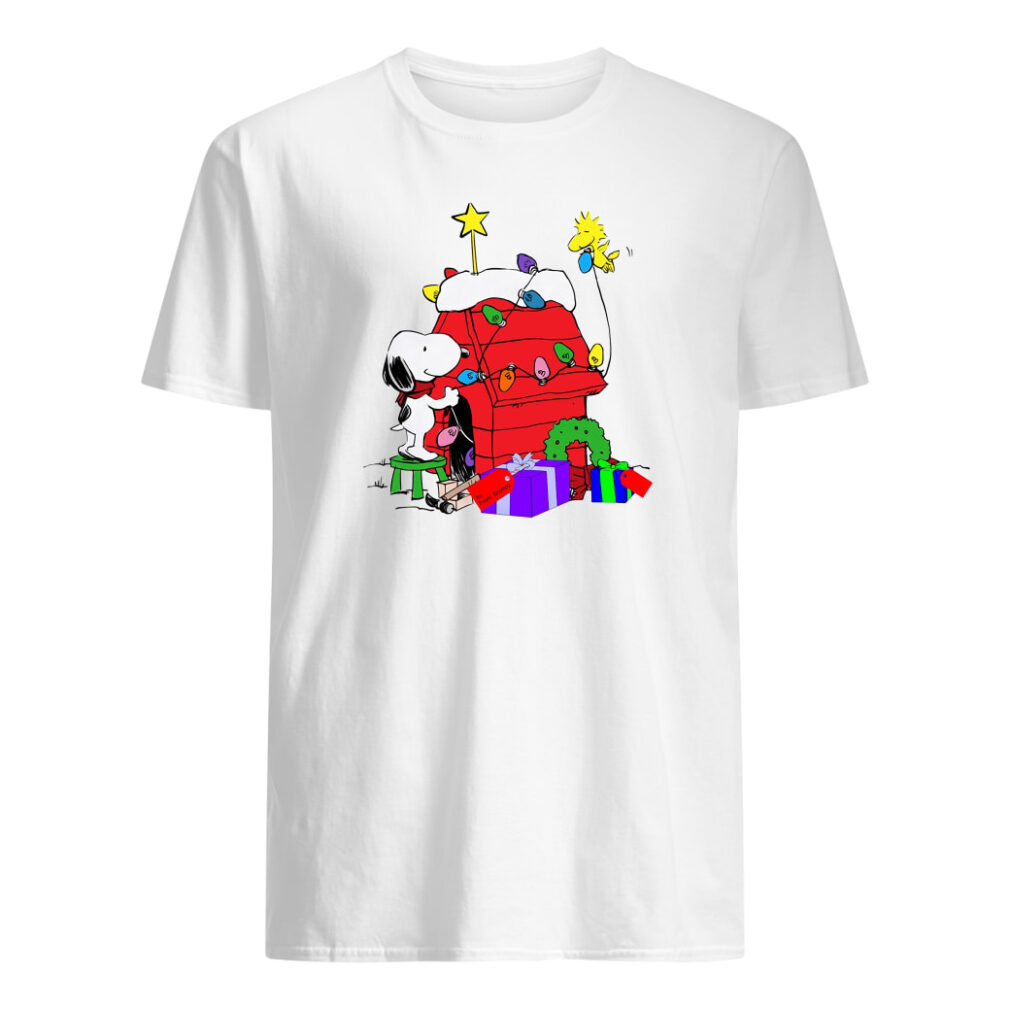 Snoopy decorations Woodstock's home shirt