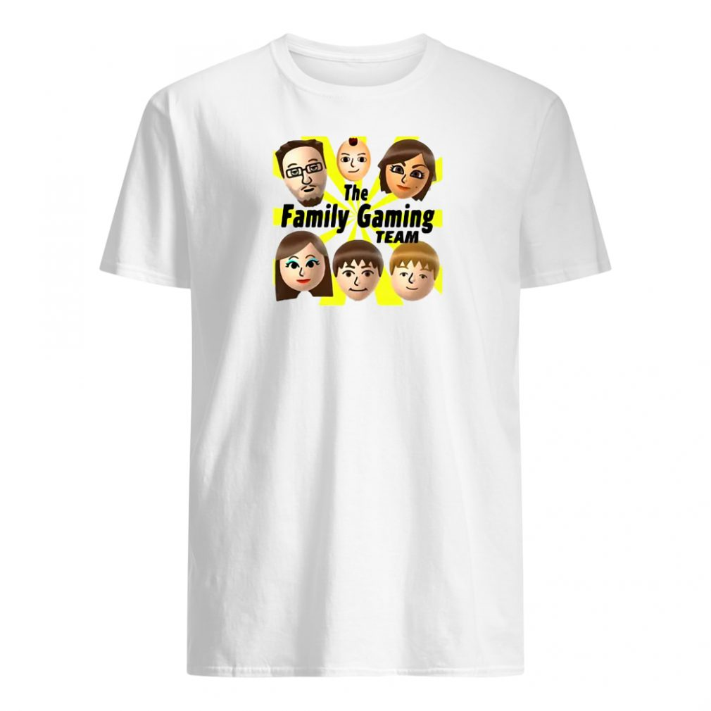 The family gaming team shirt