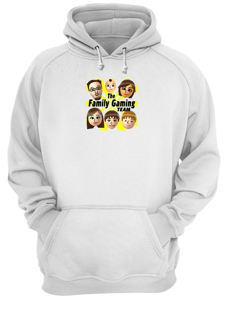 The family gaming team shirt hoodie