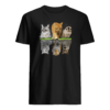Cat in the water shirt