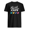 Just a girl who loves cats shirt