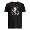 Snoopy candy cane Christmas shirt