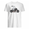 Snoopy riding motorcycle shirt