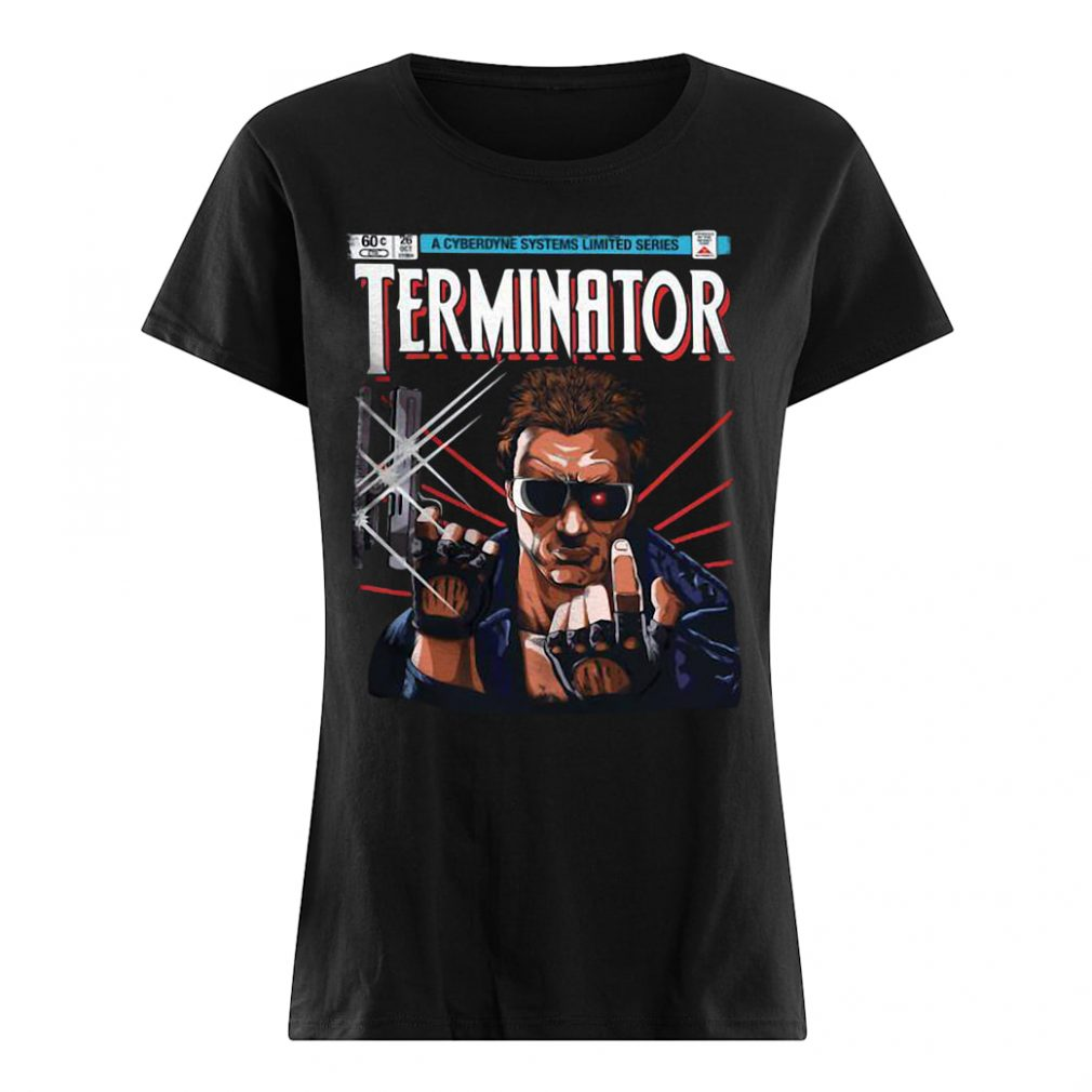 A cyberdyne systems limited series Terminator shirt ladies tee