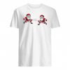 Fencing Santa Claus christmas shirt