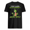 Grinch I think I'm gonna get on someone's nerves today shirt