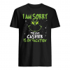 I am sorry the nice cashier is on vacation shirt