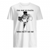 Jesus make me peaceful humans make my head hurt shirt