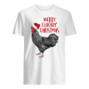 Merry cluckin' christmas shirt